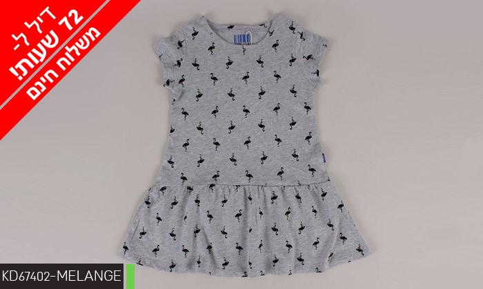 6 דיל לזמן מוגבל: 3/5 שמלות לילדות 100% כותנה KEDS - משלוח חינם
