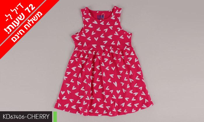 13 דיל לזמן מוגבל: 3/5 שמלות לילדות 100% כותנה KEDS - משלוח חינם
