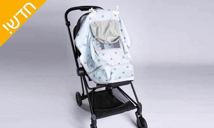 6 צלון 100% כותנה לעגלת תינוק MINENE - צבעים לבחירה
