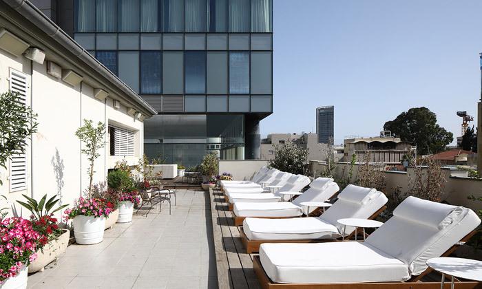 5 לילה זוגי במלון הבוטיק בכר האוס, תל אביב