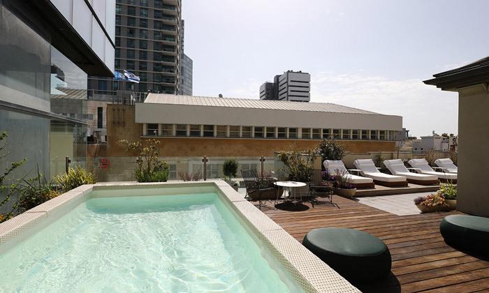 2 לילה זוגי במלון הבוטיק בכר האוס, תל אביב