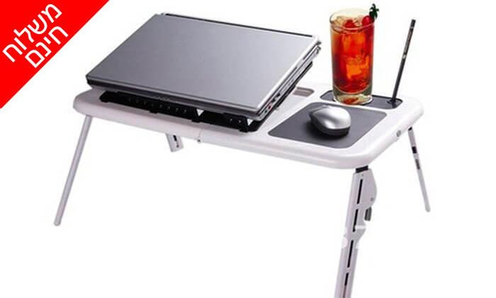2 שולחן לפטופ מתקפל - משלוח חינם