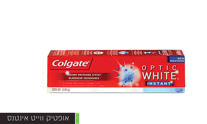 5 מארז 8 יחידות משחת שיניים ו-4 מברשות שיניים קולגייט Colgate