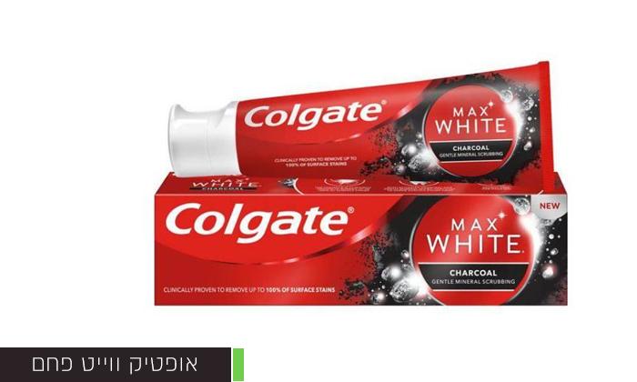6 מארז 8 יחידות משחת שיניים ו-4 מברשות שיניים קולגייט Colgate