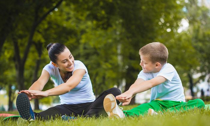 4 עיסוי לילדים בשיטת אלבאום אצל אינה דוז'נסקי, ראשון לציון