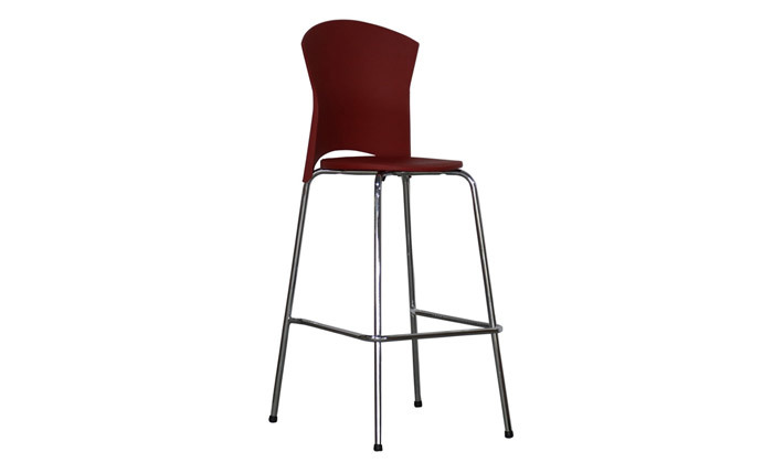 4 כיסא בר דגם לגונה - גובה וצבעים לבחירה