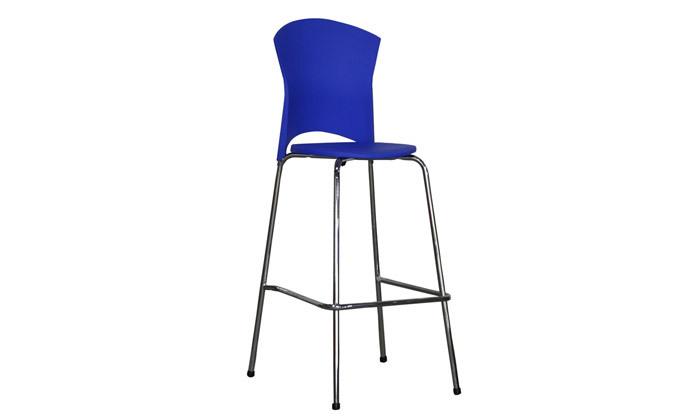 5 כיסא בר דגם לגונה - גובה וצבעים לבחירה