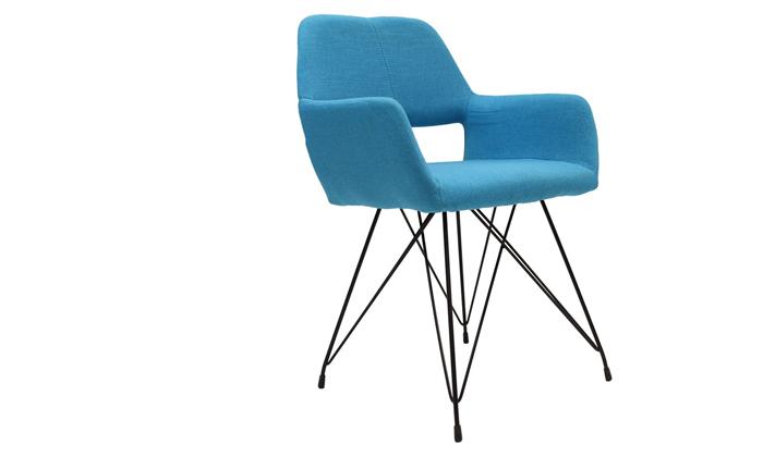 3 כיסא דגם תמרה בצבע תכלת