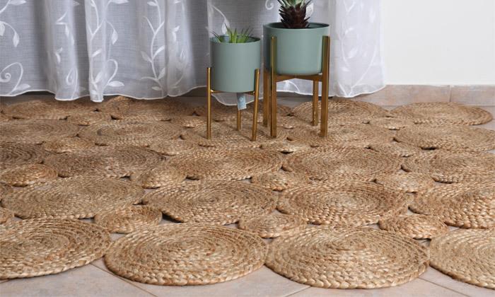 5 שטיח חבל מסדרת אגוס במבחר גדלים