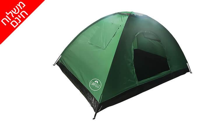 2 אוהל ל-6 אנשים CAMP&CO - משלוח חינם
