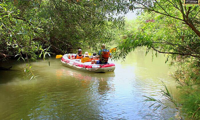 4 שייטקיאקים בפארק הירדן, אבו קיאק, גם בשישי