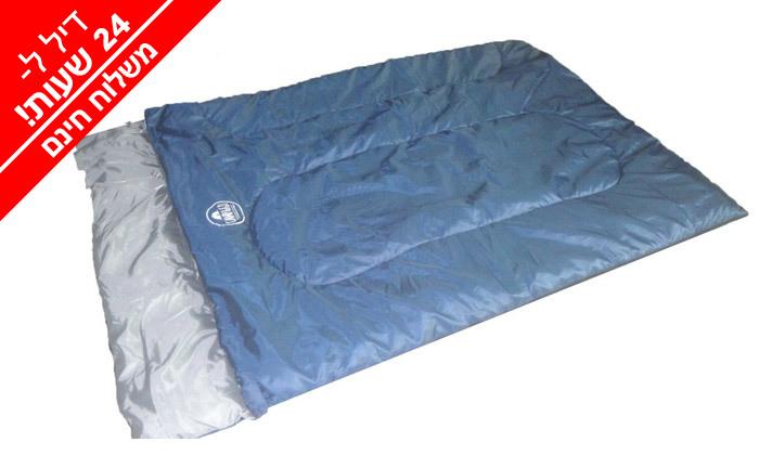4 אוהל עמידה ל-8 אנשים ושק שינה זוגי - משלוח חינם