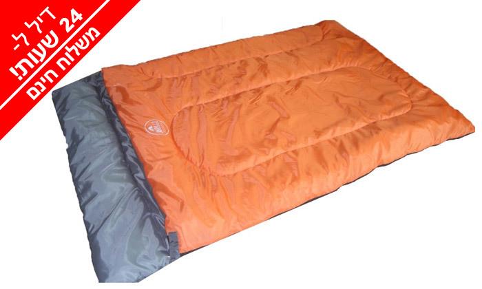 5 אוהל עמידה ל-8 אנשים ושק שינה זוגי - משלוח חינם