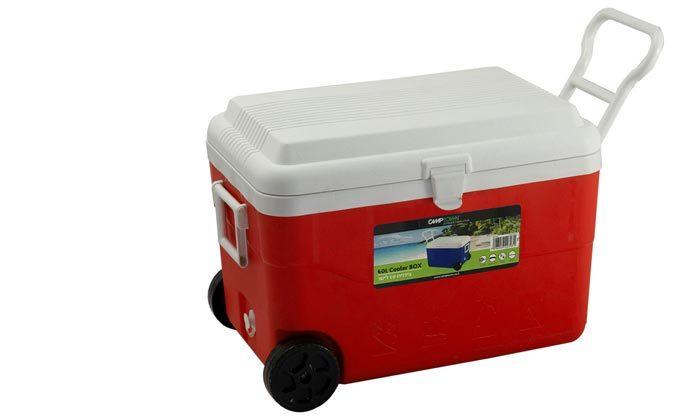 4 צידנית על גלגלים בנפח 60 ליטר CAMPTOWN - צבעים לבחירה