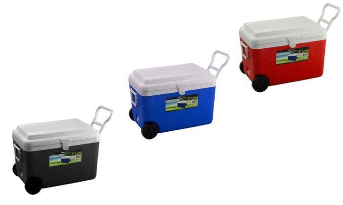 2 צידנית על גלגלים בנפח 60 ליטר CAMPTOWN - צבעים לבחירה