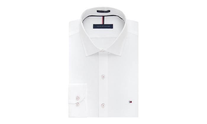 3 חולצה מכופתרת לגברים 100% כותנה TOMMY HILFIGER