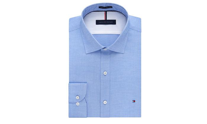 4 חולצה מכופתרת לגברים 100% כותנה TOMMY HILFIGER