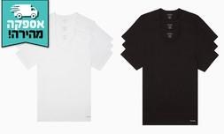 3 חולצות גברים Calvin Klein