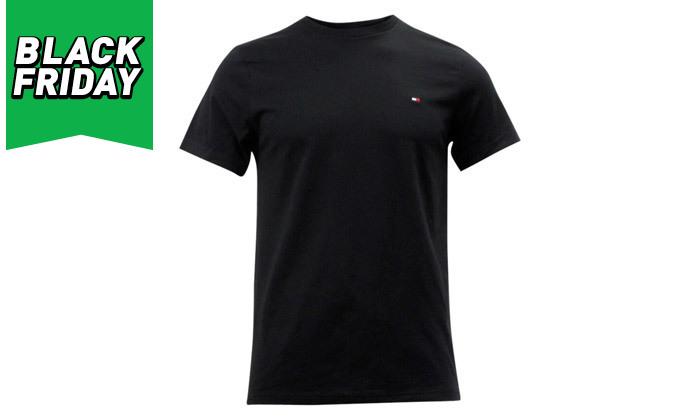 3 חולצה לגבר 100% כותנה TOMMY HILFIGER - מגוון צבעים