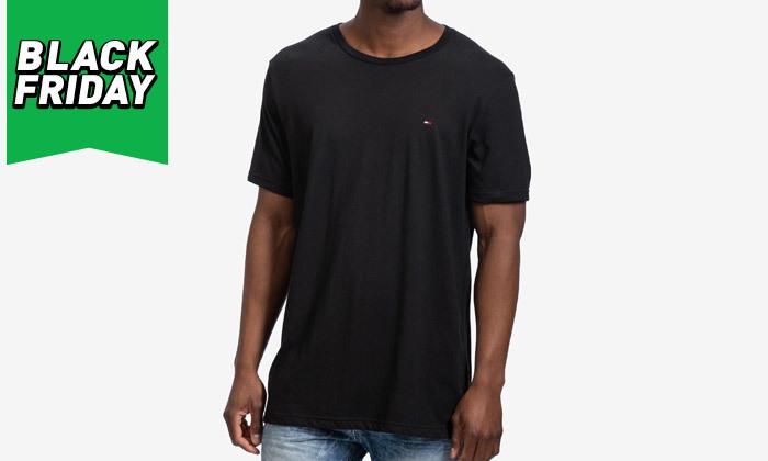 5 חולצה לגבר 100% כותנה TOMMY HILFIGER - מגוון צבעים
