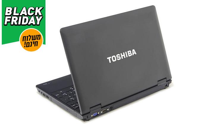 """3 מחשב נייד TOSHIBA עם מסך """"15.6 - כולל משלוח חינם ותיק לפטופ"""
