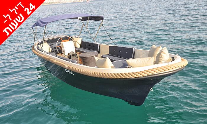 """3 דיל ל-24 שעות: שייט עצמי בסירת """"גונדולה"""" ממונעת באילת"""