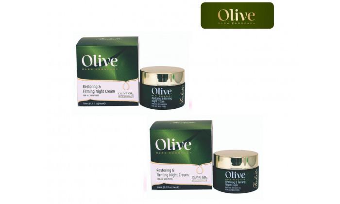 2 2 יחידות קרם לחות ללילה Olive