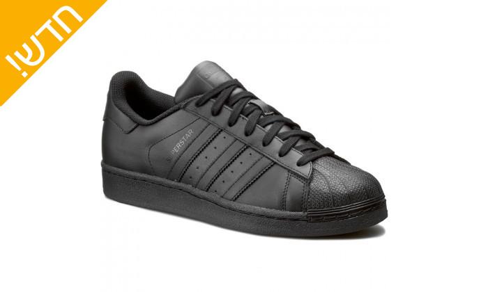 2 נעלי סניקרס לגברים adidas דגם SUPERSTAR
