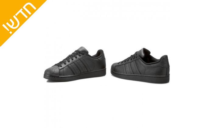 3 נעלי סניקרס לגברים adidas דגם SUPERSTAR