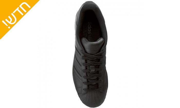 6 נעלי סניקרס לגברים adidas דגם SUPERSTAR