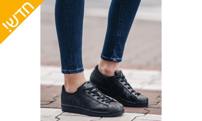 8 נעלי סניקרס לגברים adidas דגם SUPERSTAR
