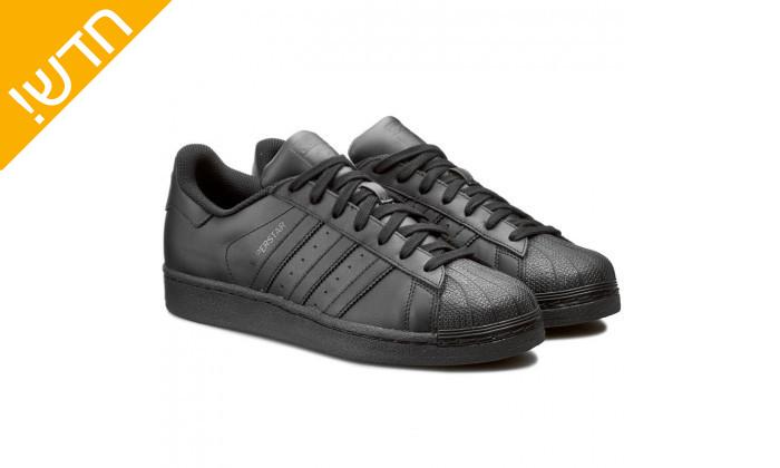 9 נעלי סניקרס לגברים adidas דגם SUPERSTAR