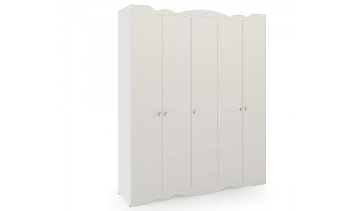 2 ארון דגם רקפת עם 5 דלתות - צבעים לבחירה
