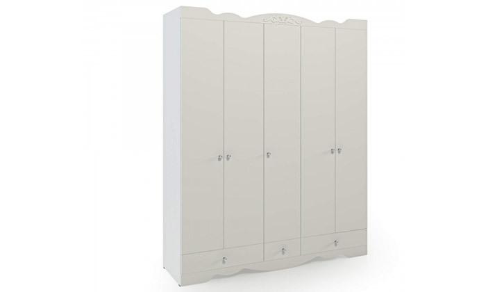 3 ארון דגם רקפת עם 5 דלתות - צבעים לבחירה