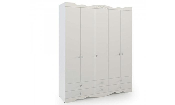 5 ארון דגם רקפת עם 5 דלתות - צבעים לבחירה