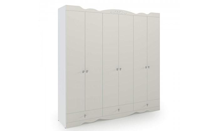 4 ארון דגם רקפת עם 6 דלתות - צבעים לבחירה