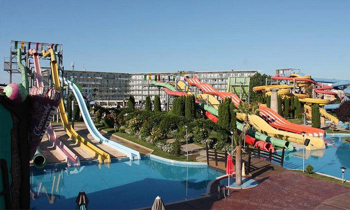 """7 חופשת קיץ הכל כלול בבורגס, כולל פארק מים ואופציה לסופ""""ש"""