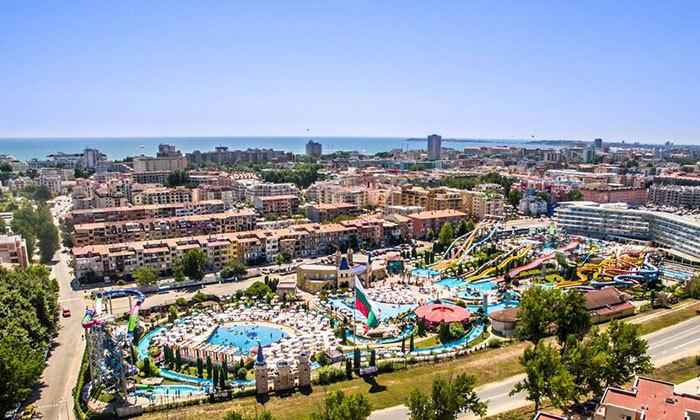 """9 חופשת קיץ הכל כלול בבורגס, כולל פארק מים ואופציה לסופ""""ש"""