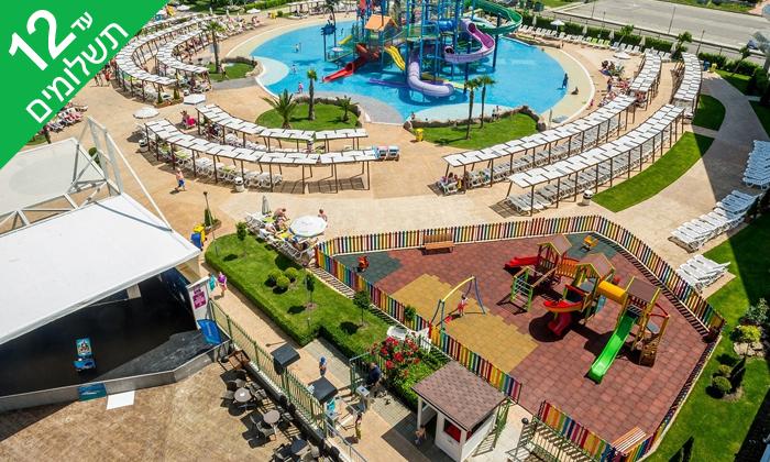 """6 חופשת קיץ הכל כלול בבורגס, כולל פארק מים ואופציה לסופ""""ש"""