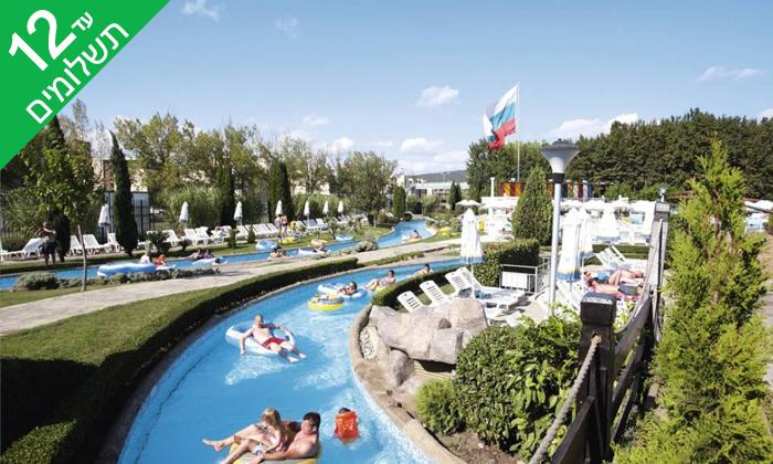 """5 חופשת קיץ הכל כלול בבורגס, כולל פארק מים ואופציה לסופ""""ש"""