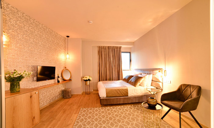 "9 My Jerusalem View - לילה לזוג במלון בוטיק בלב ירושלים, כולל סופ""ש"