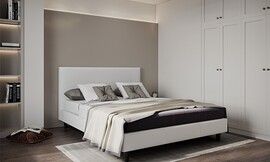 מיטה זוגית מרופדת דגם SHELLY