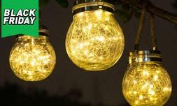 מנורת כד זכוכית סולארית