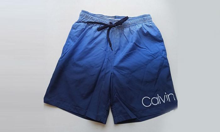 3 בגד ים לגברים קלווין קליין Calvin Klein - צבעים לבחירה