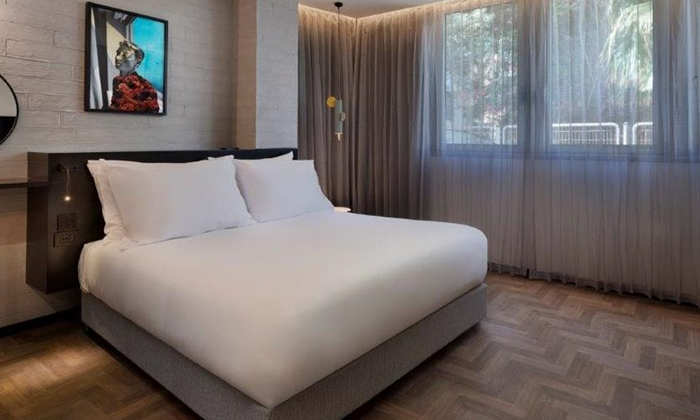4 לילה זוגי במלון MUSE בלב תל אביב ואטרקציה לבחירה