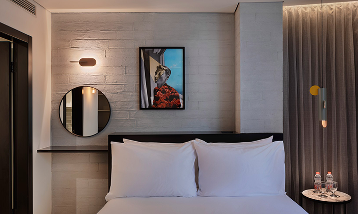 5 לילה זוגי במלון MUSE בלב תל אביב ואטרקציה לבחירה