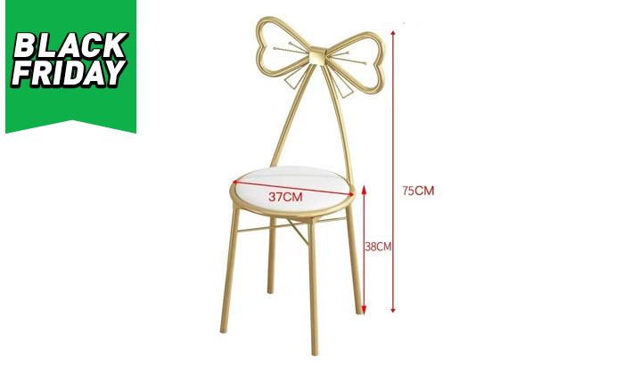 11 שידת טואלט עם שולחן וכיסא לילדות דגם Bell - מידות לבחירה