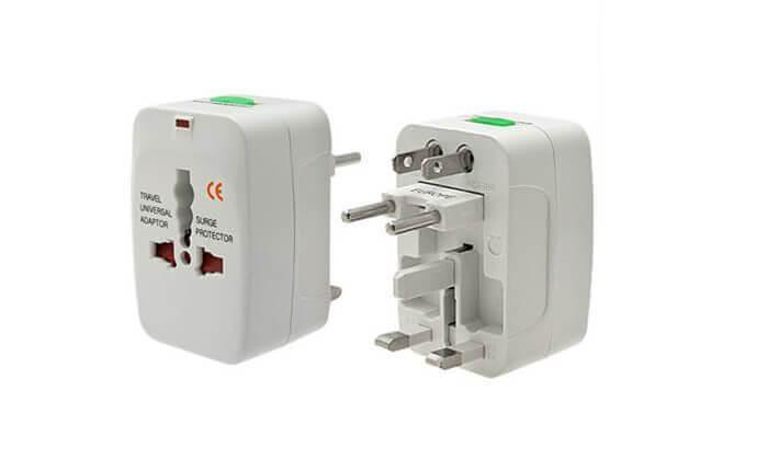 2 מתאם חשמל זוגי בינלאומי