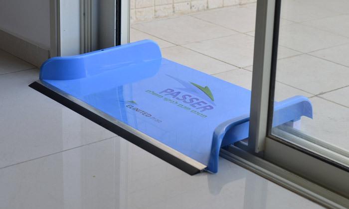 2 Passer - מתקן להעברת מים למרפסת/גינה מעל המסילות