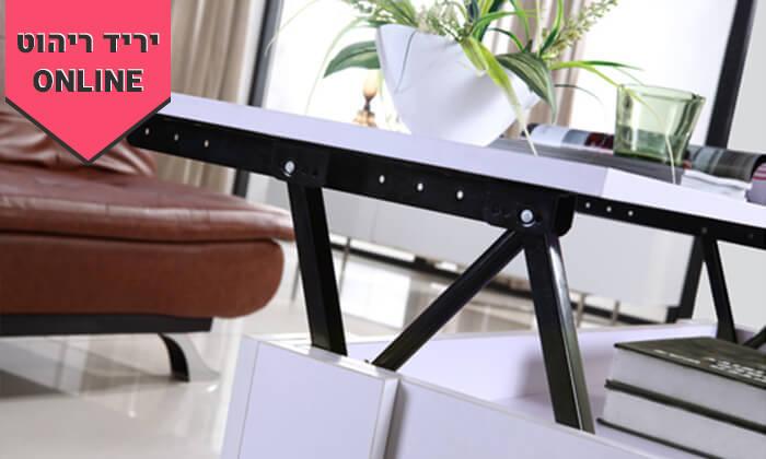 7 שולחן סלון נפתח BRADEX דגם AMY LIFT